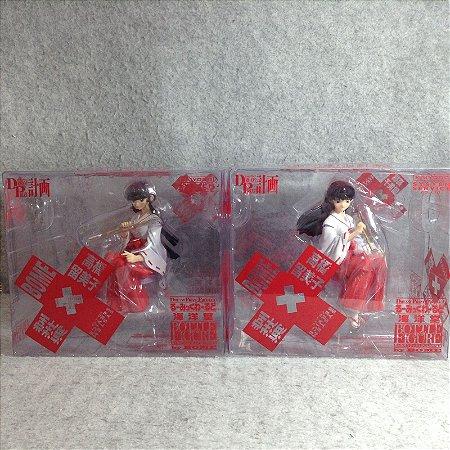 Set Kikyo and Kagome Higurashi KAIYODO Inuyasha bottle Cap Figure
