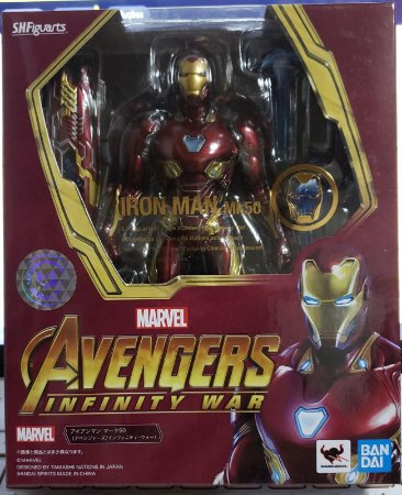 S. H. Figuarts Iron Man Mk50 Avengers Infinity War