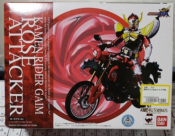 S H Figuarts Kamen Rider Gaim Rose Attacker