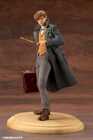 NEWT SCAMANDER - FANTASTIC BEASTS: THE CRIMES OF GRINDELWALD - ARTFX+ STATUE