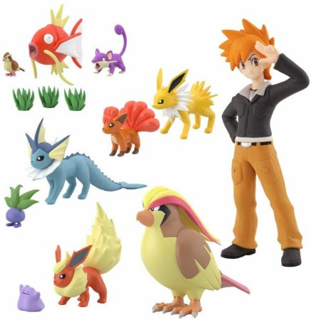 Pokemon Scale World 2 Kanto Set