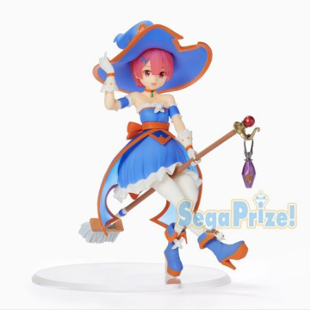 Re Zero Starting Life in Another World: Ram Cute Witch SPM Figure by SEGA