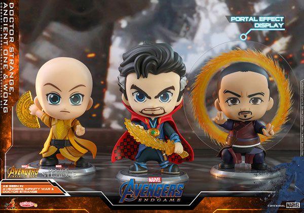 "CosBaby ""Avengers: Endgame"" [Size S] Dr. Strange & Ancient One & Wong (3 Figure Set)"