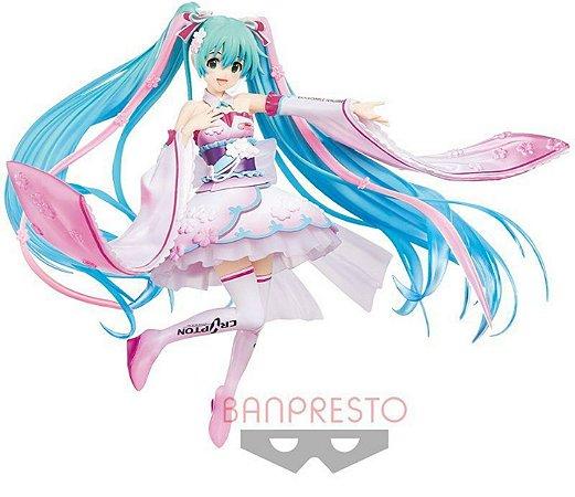 Vocaloid Espresto est Dress & Hair Racing Miku (2019 Team UKYO Kimono Ver.)