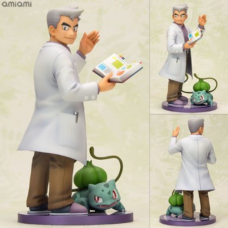 "ARTFX J ""Pokemon"" Series Professor Oak with Bulbasaur 1/8 Complete Figure"