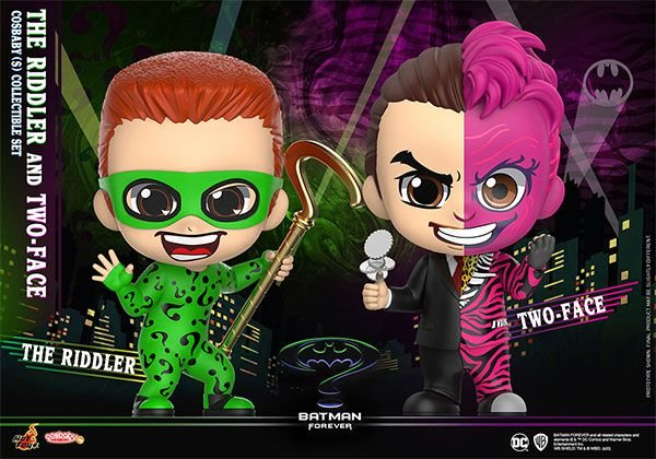 """CosBaby """"Batman Forever"""" [Size S] Riddler & Two Face (Set of 2)"""