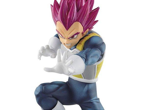 Dragon Ball Super Warriors Battle Retsuden Super Saiyan God Vegeta