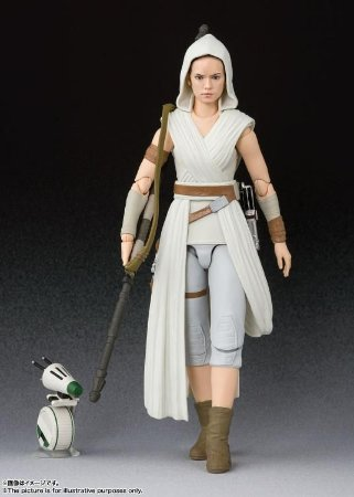 Star Wars S.H.Figuarts Rey & D-O (The Rise of Skywalker)