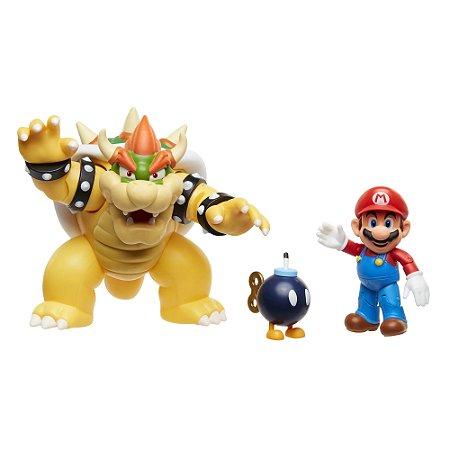 BOWSER'S LAVA BATTLE SET ~ Mario, Bob-omb & Bowser
