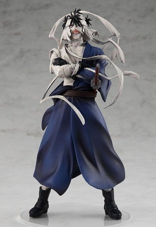 FRETE GRATIS - PRE ORDER - POP UP PARADE Rurouni Kenshin -Meiji Swordsman Romantic Story- Makoto Shishio Complete Figure Release Date: 2021/08
