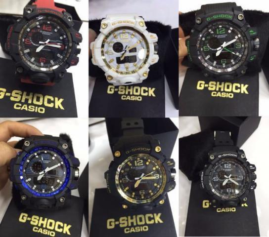 Kit 05 Relógios Unissex Casio G Shock Mudmaster + Caixas