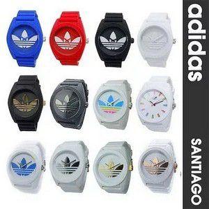 Kit 05 Relógios Adidas Santiago Unissex + Caixinhas