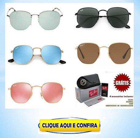 13b88905b Oculos Ray ban Hexagonal Promoção - Produtos Barato No Atacado ...