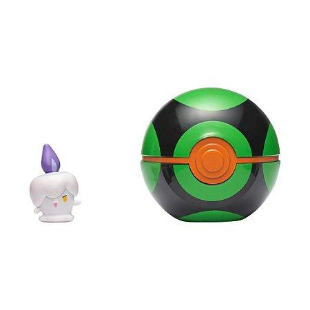 Pokémon - Clip N Go - Litwick + Pokebola Dusk Ball - Sunny
