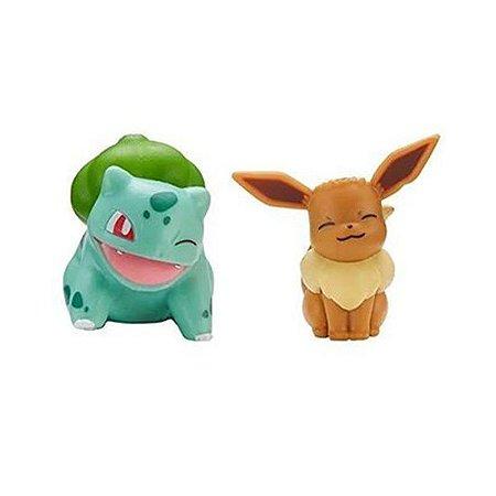 Pokémon Battle Ready Figure - Eevee + Bulbasaur - Sunny