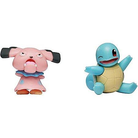 Pokémon Battle Ready Figure - Snubbul + Squirtle - Sunny