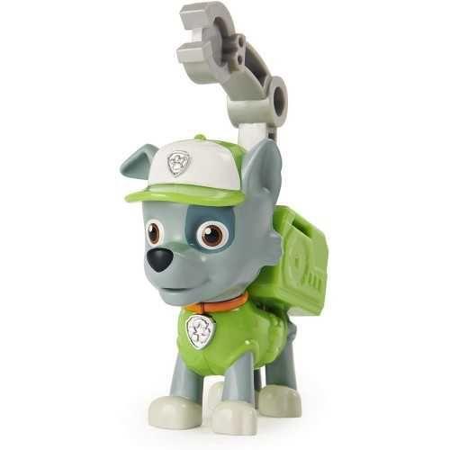 Figura Rocky  c/ Som - Pack De Ação Patrulha Canina - Sunny