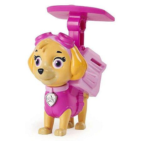 Figura Skye  c/ Som - Pack De Ação Patrulha Canina - Sunny
