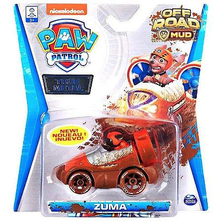 Carrinho Metal Zuma Off Road Mud - Patrulha Canina - Sunny