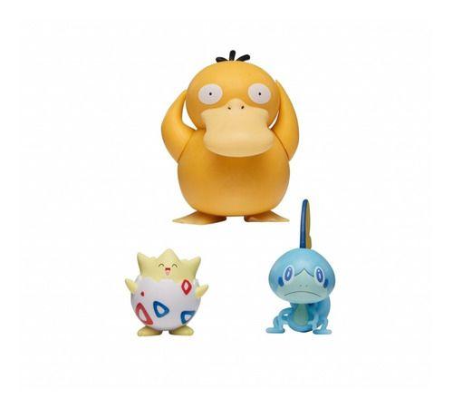 Pokémon Battle Set - Psyduck + Sobble + Togepi - Sunny