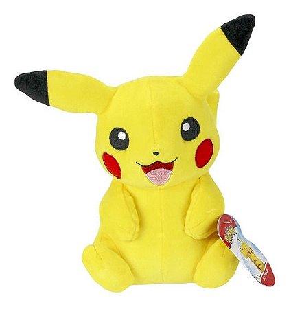 Pelúcia Pokémon - Pikachu - 18cm - Original - Sunny