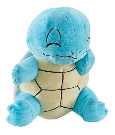 Pelúcia Pokémon - Squirtle - 18cm - Original - Sunny