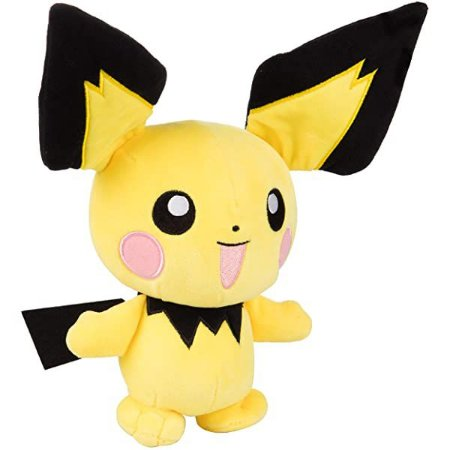 Pelúcia Pokémon - Pichu- 18cm - Original - Sunny
