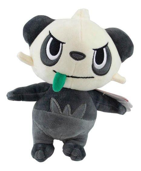 Pelúcia Pokémon - Pancham - 18cm - Original - Sunny