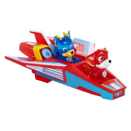 Mini Jet Playset - Patrulha Canina - C/ 02 Figura - Sunny