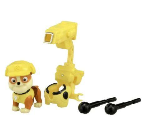 Figura Rubble + Lançador Pack De Ação Patrulha Canina -Sunny
