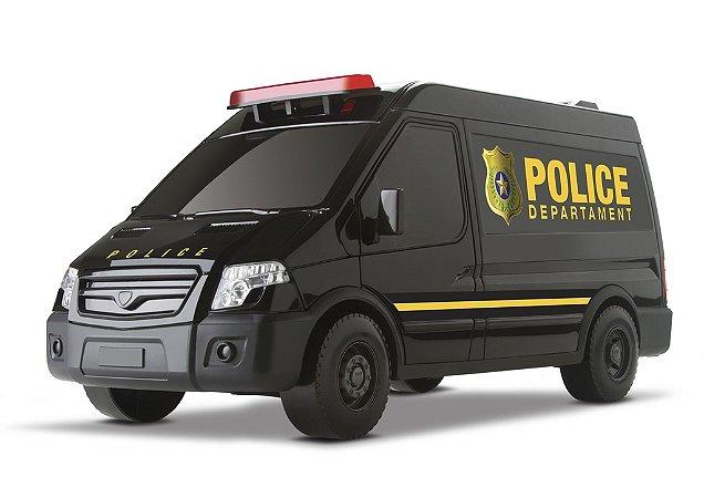 Supervan Police - Polícia - Roma Brinquedos