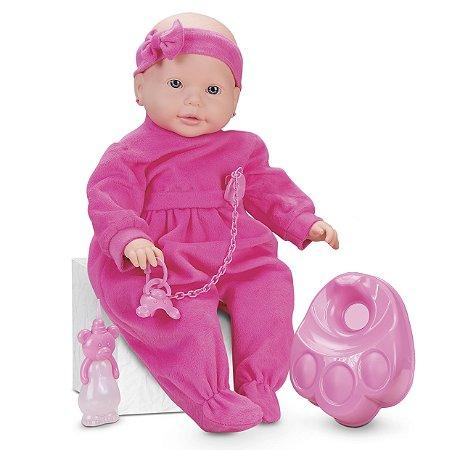 Boneca New Bebê Mania Xixi - Roma Brinquedos