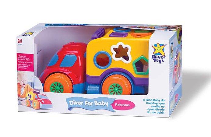 Carrinho de Atividades Robustus Baby - Divertoys