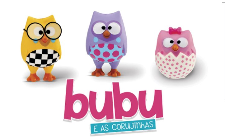 Bubu e as Corujinhas - Bubu Biel e Bonie - Adijomar