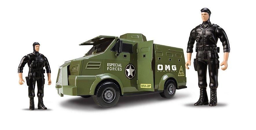 Caminhão Exército OMG Comandos - OMG KIDS