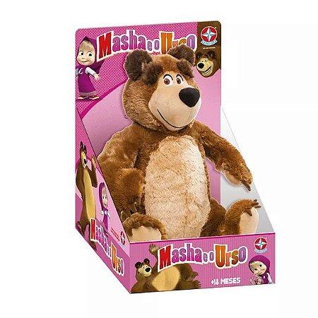 Pelúcia Urso 40cm - Masha e o Urso - Estrela