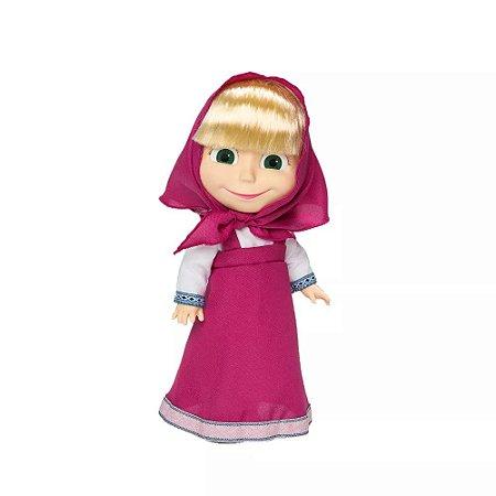 Boneca Masha que fala - 35cm - Masha e o Urso - Estrela