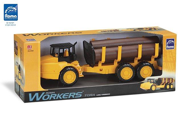 Roma Workers Tora - Caminhão Caçamba - Roma Brinquedos