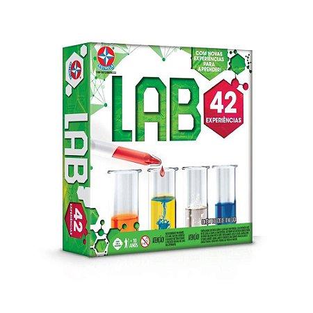 Jogo de Ciências Lab 42 com kit de experiências - Estrela