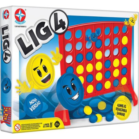Jogo Lig 4 - Nova Versão - Estrela