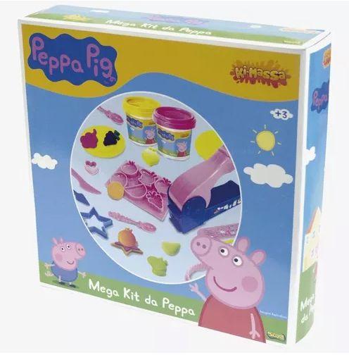 Mega Kit da Peppa Pig - Massinha de Modelar - Sunny