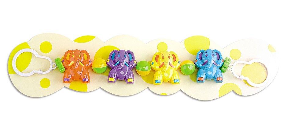 Móbile para Carrinho de Bebê e Bebê Conforto - Elefantinho - Braskit