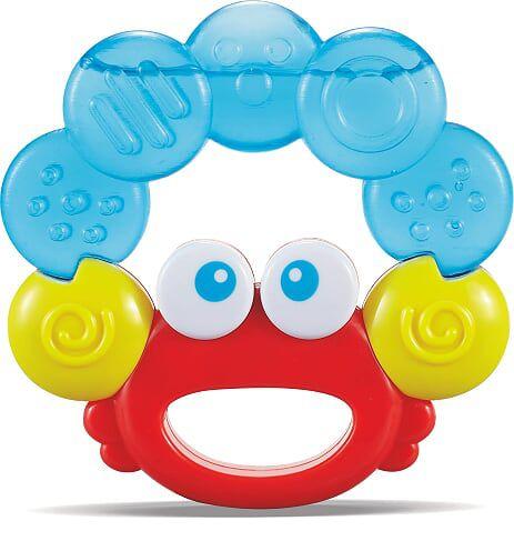 Mordedor Caranguejo para Bebê - Zoop Toys