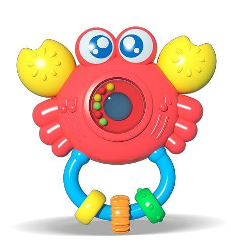 Chocalho c/ Som e Luz para Bebê - Sirizinho - Zoop Toys