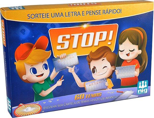 Jogo Stop - 60 Temas - Adulto e Infantil - NIG