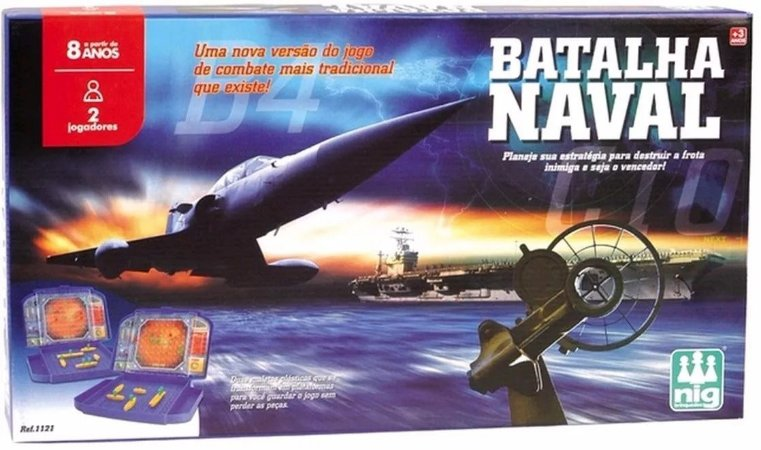 Jogo Batalha Naval - Jogo de Estratégia - NIG
