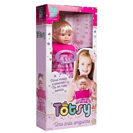 Boneca Totsy 113 Frases - Supertoys