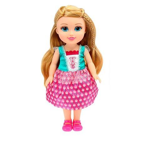 Boneca Funville Sparkle Girlz c/ Acessório e Fala - Princesa Pati - DTC