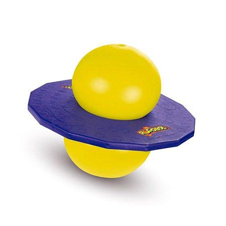 Pogobol Roxo E Amarelo - Estrela