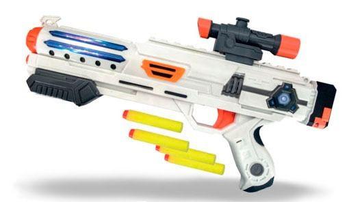 Lançador De Dardos Super Guardian - C/ 4 Dardos - Zoop Toys